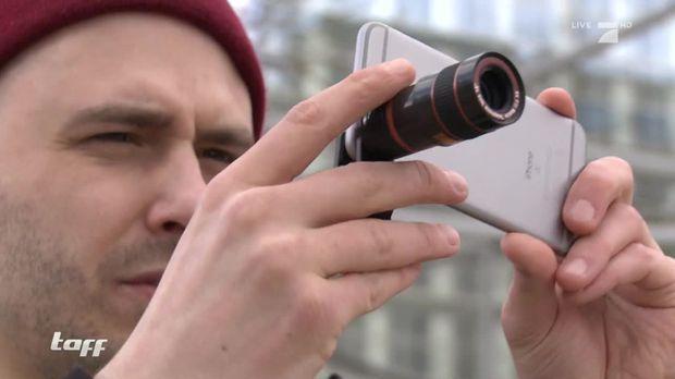 Taff - Taff - Handyfotos Im Test: Kommen Bilder Mit Aufsatz An Echte Kameras Heran?
