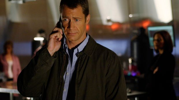 Ist nicht mehr Sheriff von Eureka: Jack (Colin Ferguson) ... © Universal Tele...