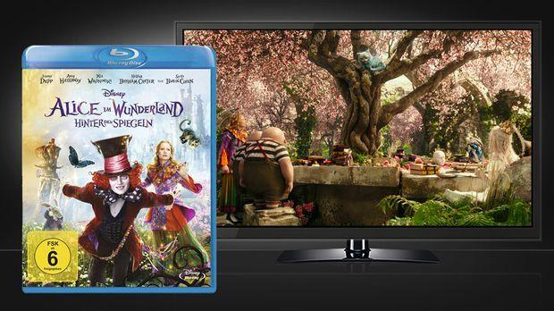Alice im Wunderland - Hinter den Spiegeln - Blu-ray und Szene © Walt Disney S...
