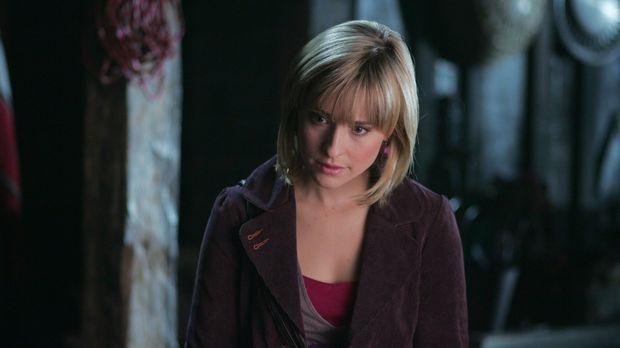 Nicht nur Clark, sondern auch Chloe (Allison Mack) wird für verrückt erklärt...