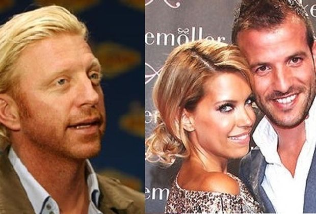 Boris Becker Sylvie und Rafael Van der Vaart