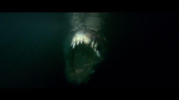 In den Weiten des australischen Salzwassersumpfes lauert ein monströses Kroko...
