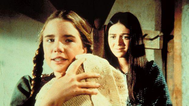 Glücklich und zufrieden: Laura (Melissa Gilbert, l.), das Baby und die wieder...