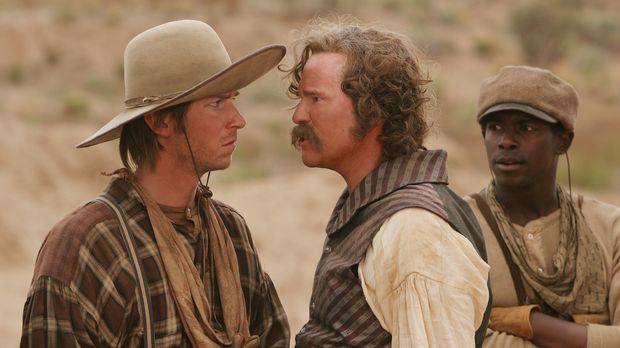 Als das Pferd von Captain Inish Scull (Val Kilmer, M.) gestohlen wird, währen...