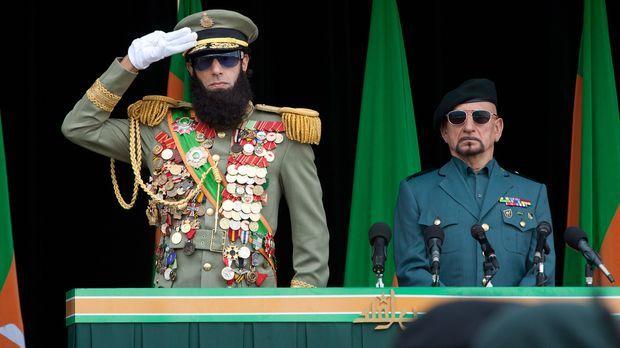 Der völlig durchgeknallte und machtbesessene Diktator Admiral General Shabazz...