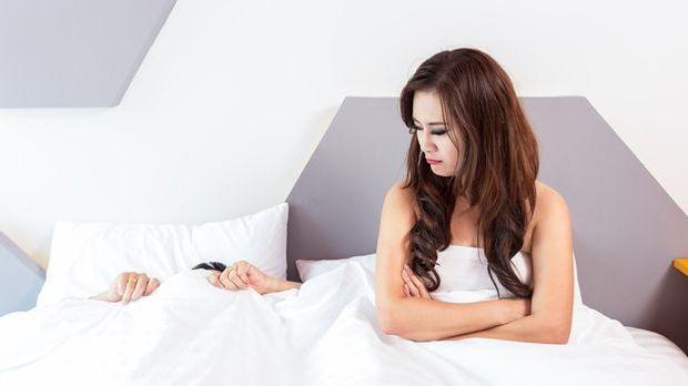 Wenn Männer Probleme haben, zum Orgasmus zu kommen