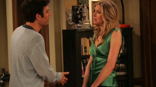 Ted (Josh Radnor, l.) und Stella (Sarah Chalke, r.) sind bereits seit zwei Mo...
