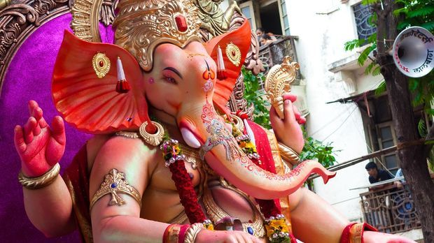 Statue des Gottes Ganesha
