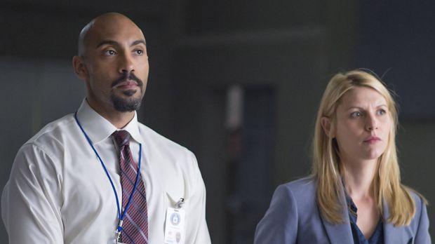 Carrie Mathison (Claire Danes, r.) wird nach Kabul, Afghanistan versetzt, von...