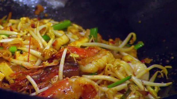 Phat Thai aus den Geschmacksjägern