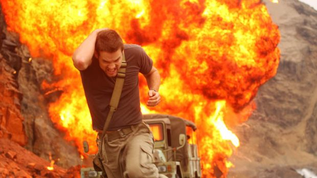 Rettung in letzter Sekunde: Schatzsucher Jack Wilder (Shane West) ...