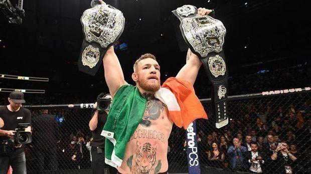 Conor McGregor legt ab Mai erst mal eine Babypause ein