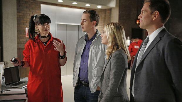 Ein neuer Fall wartet auf Abby (Pauley Perrette, l.), McGee (Sean Murray, 2.v...