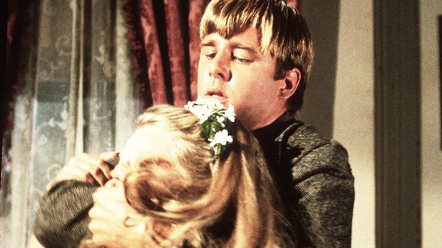 Horace Perkins (Beau Bridges, r.) versucht, Sally Bristol (Shirley Boone, l.)...