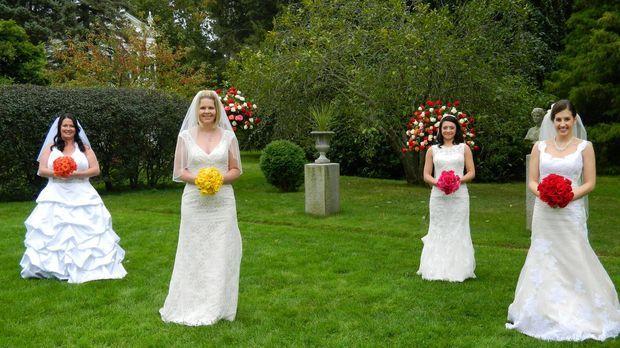 Kämpfen um den Titel und eine atemberaubende Hochzeitsreise: Jessica (l.), We...
