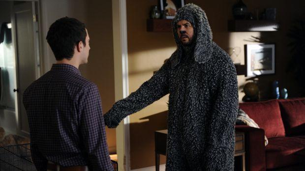 Wilfred (Jason Gann, r.) möchte nicht alleine zu Hause bleiben, während Ryan...
