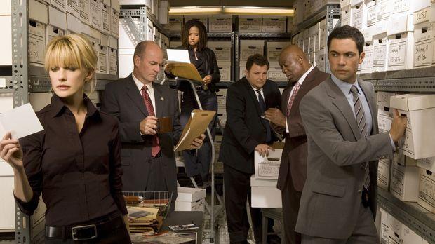 (6. Staffel) - Die Mitarbeiter des Mord-Dezernates von Philadelphia sind ein...