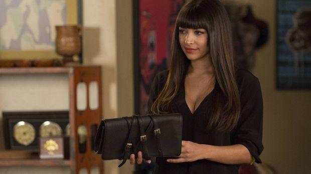Cece (Hannah Simone) ist nicht die Einzige, die vom Besuch von Jess' Schweste...