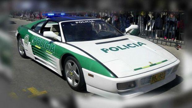 Polizei Ferrari