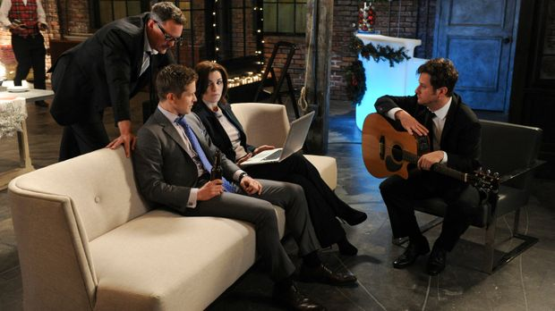 Der Fall von den Musikern Rowby (Matthew Lillard, l.) und Marshal (Christophe...