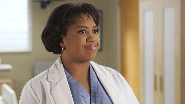 Dr. Bailey (Chandra Wilson) kann es nicht fassen, dass Cristina und Dr. Burke...