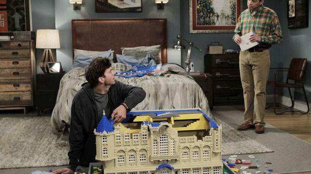 Die Trennung von Zoey macht Walden (Ashton Kutcher, l.) schwer zu schaffen, b...