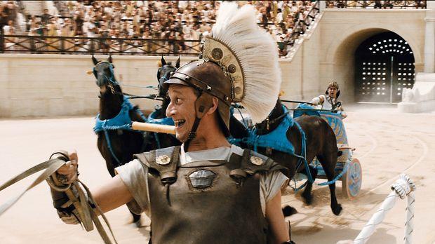 Brutus (Benoît Poelvoorde) schreckt vor keinem noch so fiesen Trick zurück .....