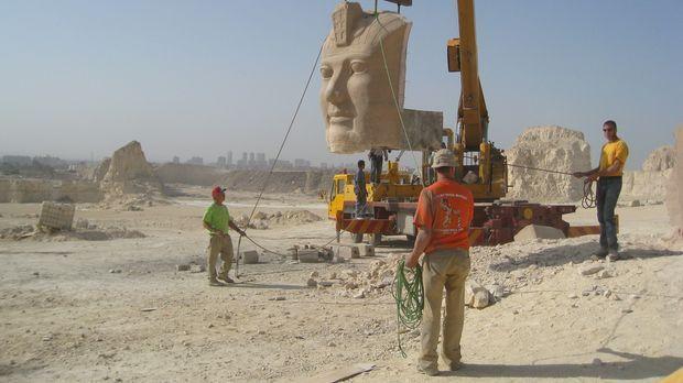 Die berühmte 3000 Jahre alte Tempelanlage von Abu Simbel muss umziehen: Exper...