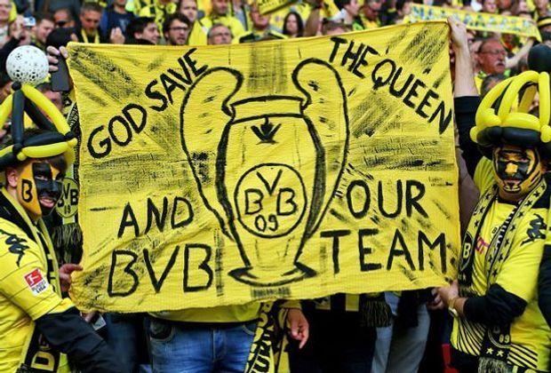 Der BVB und englische Fans: True Love