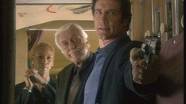 Cherly (Charmin Lee, l.), Mark (Dick Van Dyke, M.) und Steve (Barry Van Dyke,...