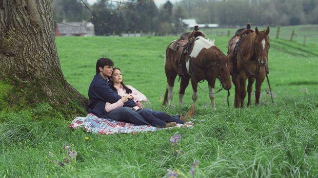 Clark (Tom Welling, l.) und Lana (Kristin Kreuk, r.) überlegen, wie sie Chloe...