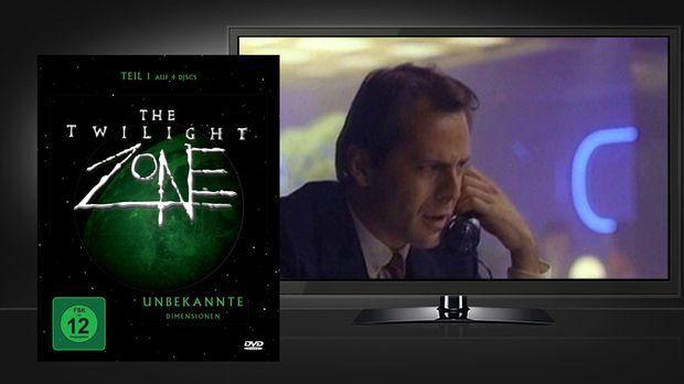 Twilight Zone -1 - DVD Cover und Szene © Koch Media