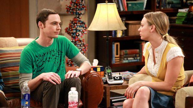 Irgendwie sind sie gute Freunde: Penny (Kaley Cuoco, r.) und Sheldon (Jim Par...