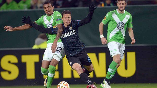 VfL Wolfsburg - Inter Mailand © dpa