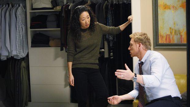Während ein Patient über Leben und Tod entscheiden muss, stellt sich Cristina...
