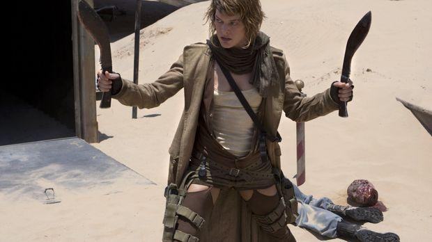 Sie kämpft mit allen Mitteln: Alice (Milla Jovovich) versucht, die letzten Üb...