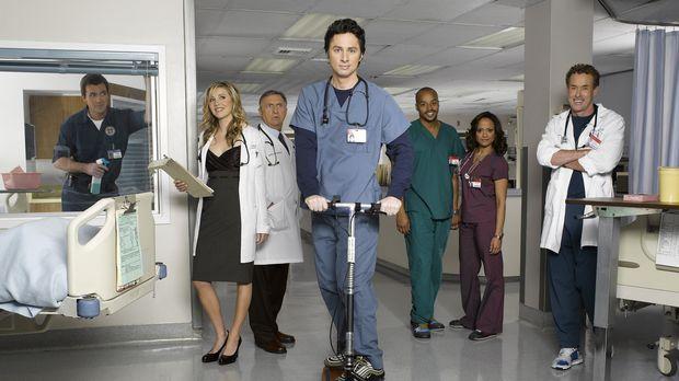 Scrubs - Die Anfänger - (6. Staffel) - Täglich fordert der Krankenhaus-Alltag...