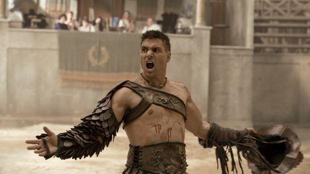 Während Crixus (Manu Bennett) einen Sieg in der Arena feiert, entwirft Sparta...