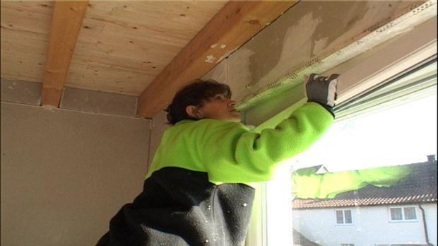 Familie Laberenz baut sich ein Haus, Teil II. Mutter Laberenz prüft, ob das F...