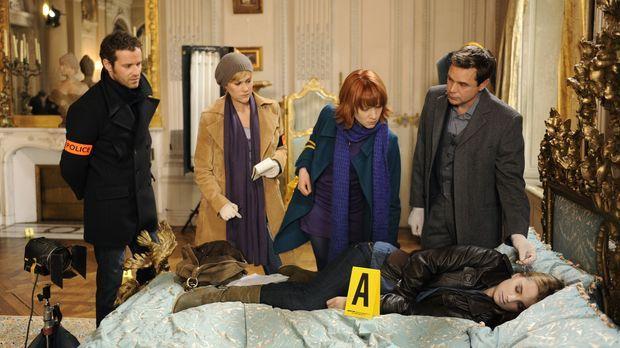 Der Tod der jungen Maryline Hardouin (Audrey DeWilder, vorne) wirft bei Matth...