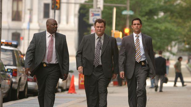 Ein neuer Fall wartet auf Will (Thom Barry, l.), Nick (Jeremy Ratchford, M.)...