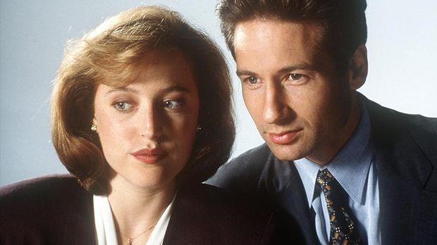 Mulder und Scully_Default Teaser © ©  dpa - Bildfunk