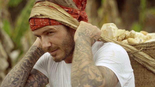 Abenteuer Amazonas - mit David Beckham - Gemeinsam mit David Beckham (Foto) m...