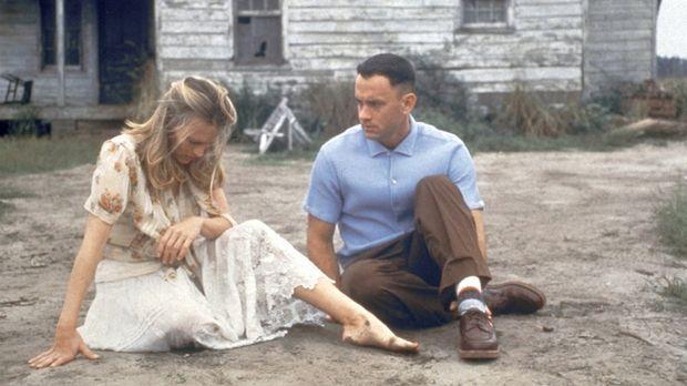Forrest Gump - Die innige Freundschaft zwischen Jenny (Robin Wright, l.) und...