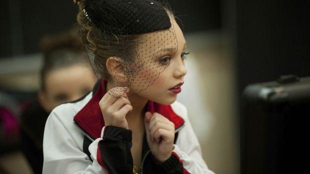 Maddie glaubt an den Erfolg und würde alles dafür tun ... © Scott Gries 2011...