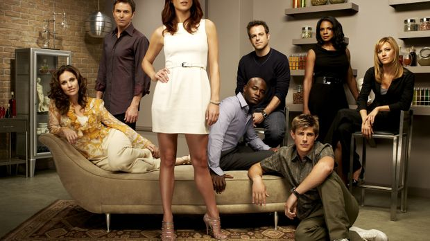 (2. Staffel) - Private Practice: William Dell Parker (Chris Lowell, 3.v.r.),...