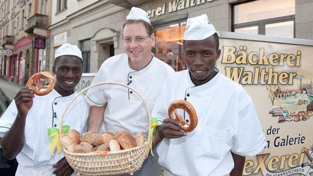Afrikaner oder Deutsche - wer backt die leckersten Brötchen? © kabel eins