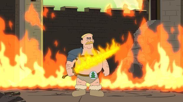 Ein neuer Ranger wird gebraucht - Woody bastelt daher das seiner Meinung nach...