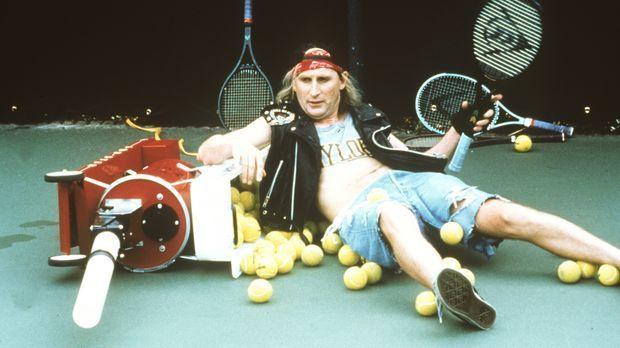 Tennis ist ganz offensichtlich nicht die geeignete Sportart für Otto (Otto Wa...