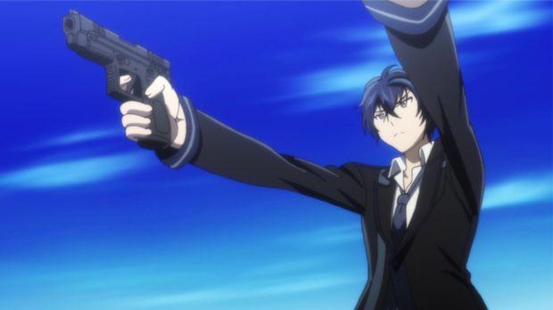 Rentaro ist bereit für seinen Entscheidungskampf gegen Tina. © 2013 Shiden Ka...